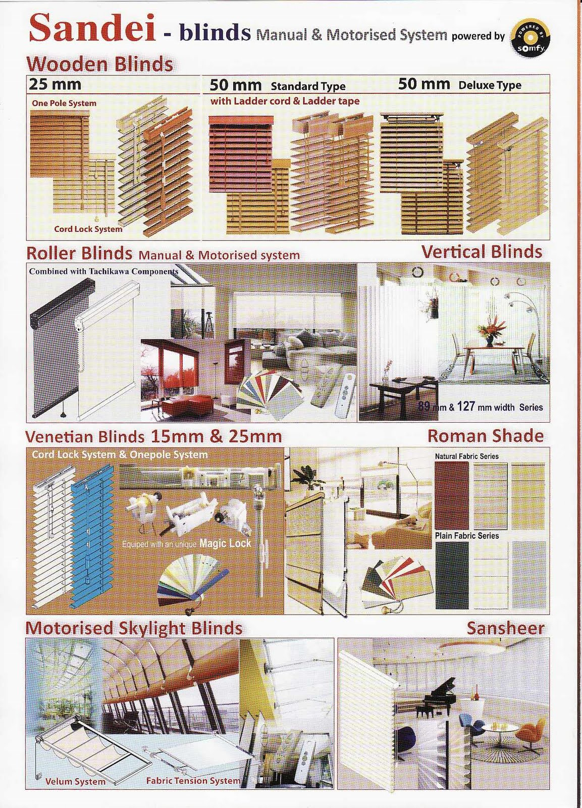 Sandei Sliding Walls and Blinds – Building Materials