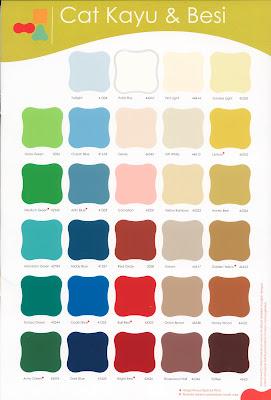 Info gambar Katalog Warna Cat Tembok Dulux Pentalite » Rumah Way