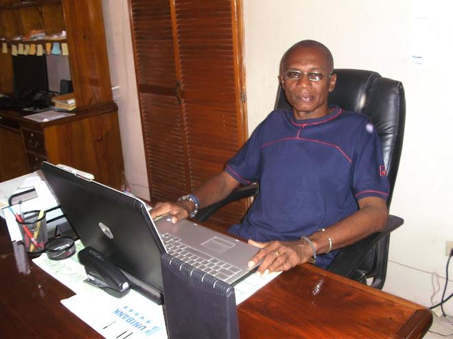 """Roudy Jadotte de Radio Cap-Haitien, JAZZ FAN, l' """"Animateur de la Bonne musique."""""""