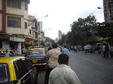 Main Kamatipura street,India's famous brothel locality.