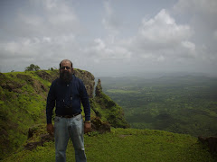 self, author Rudolph.a.Furtado at Sagargad fort on Sunday(16-8-2009)