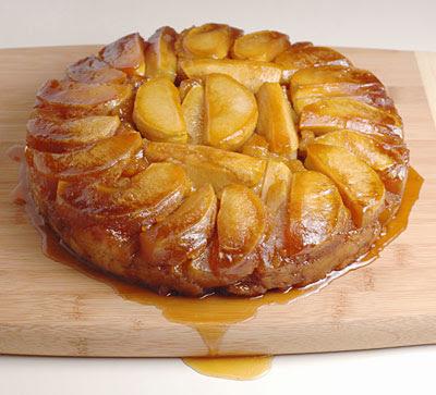tastytype: Caramel Apple Upside Down Cake