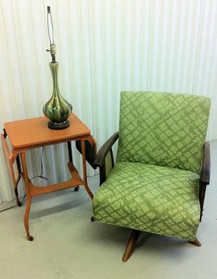 junk2funk: Mid Century Modern Rocker/Swivel Chair