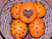 Orange Pomanders