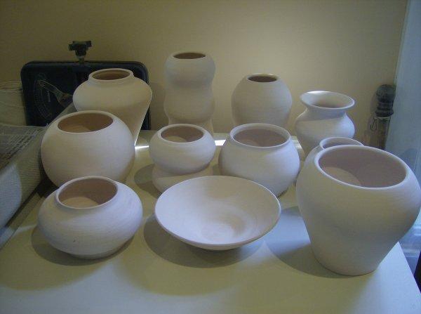 Bisque Pots
