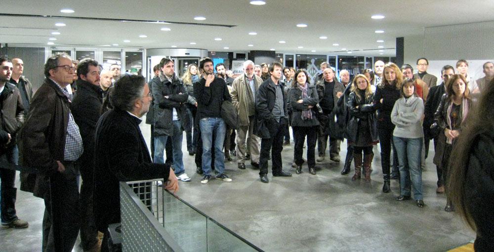 Reynaers aluminio y arquitectura fiesta anual de la - Colegio arquitectos barcelona ...