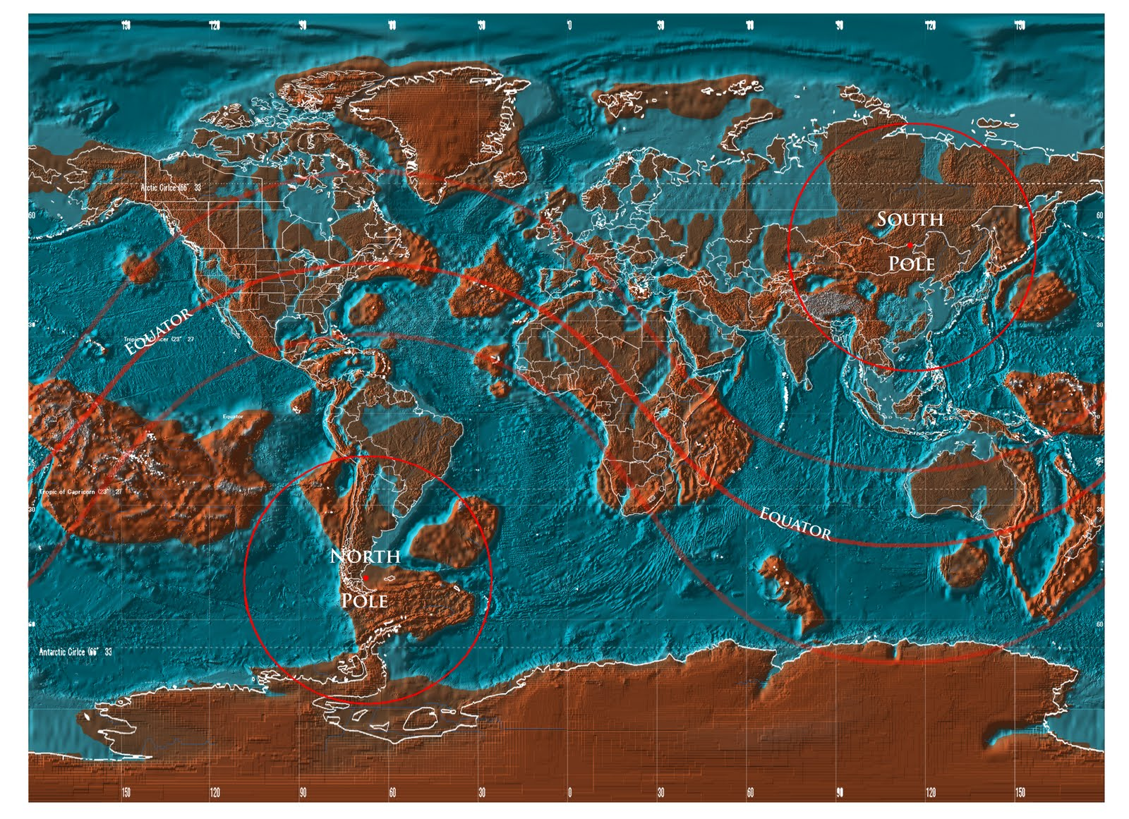 Survival Insight The World After - 2012 world map