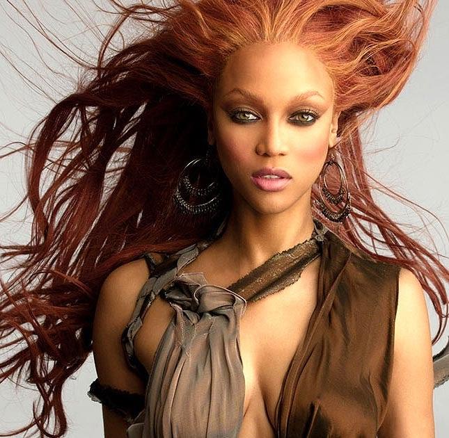 fashion style: Tyra Banks us model