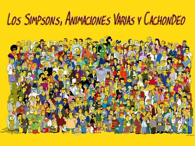 Los Simpsons, Animaciones y Cachondeo