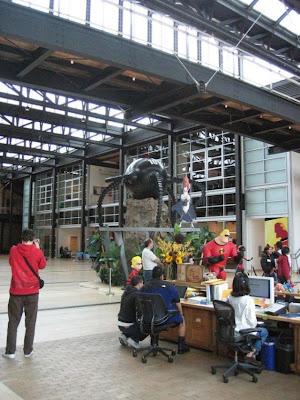 pixar studios logo. Inside Pixar Studio
