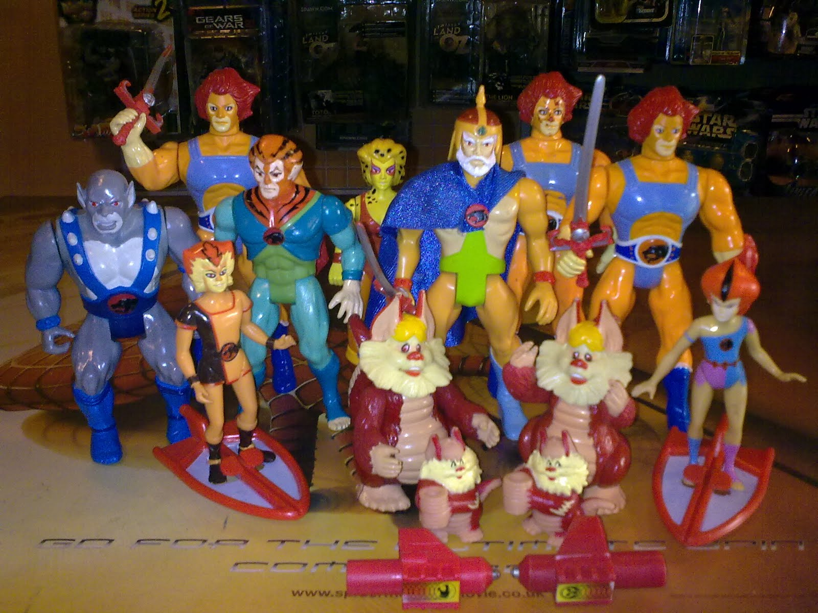 Rare Toys From The 80s : Toy workers thundercats s vintage figure landed in