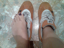 mis zapatillas  naranja