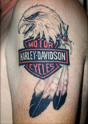 TATTOO Harley Davidson Tattoo