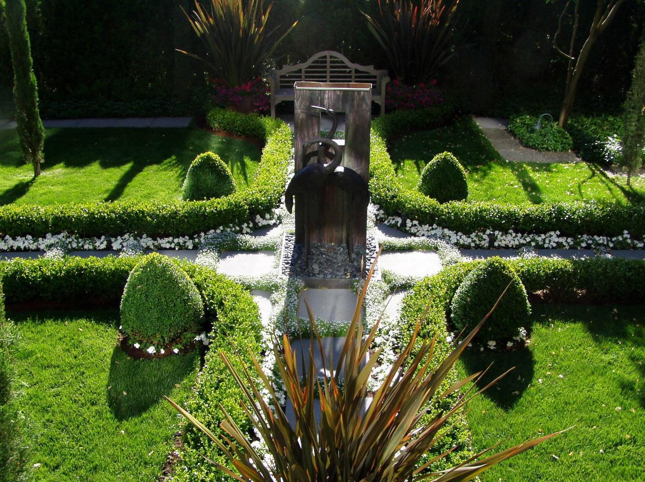 European Garden Design Ideas : Home design europe landscape exterior