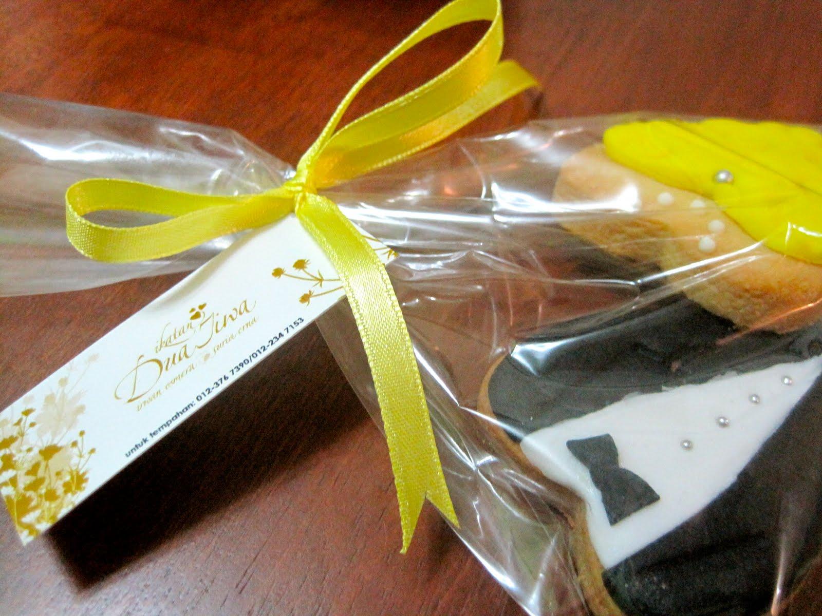 Cookies For Wedding Door Gift : Fancy Cookies: Wedding Door Gift