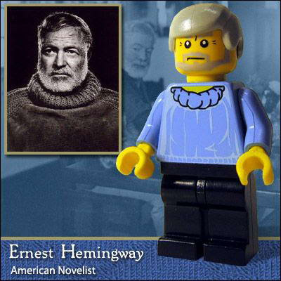 58 Famous people in Lego