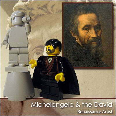 18 Famous people in Lego