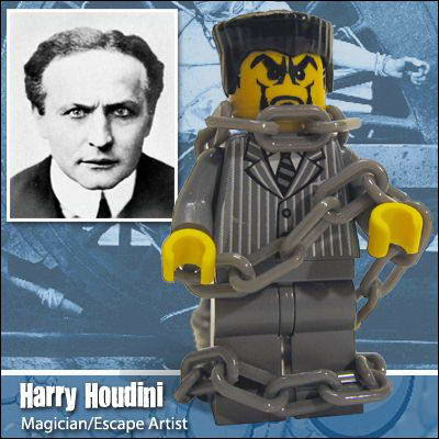 12 Famous people in Lego