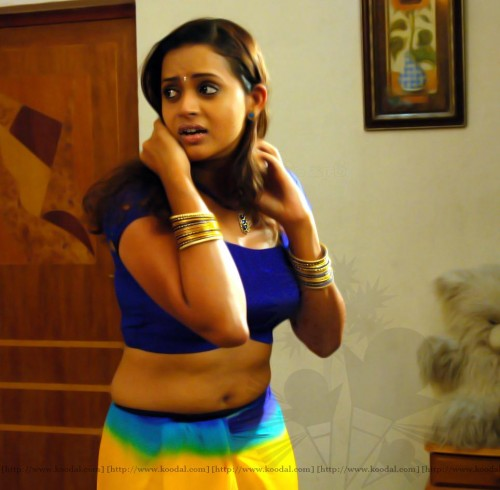 SWEET MALAYALAM ACTRESS BHAVANA NAVEL SHOWING PICS