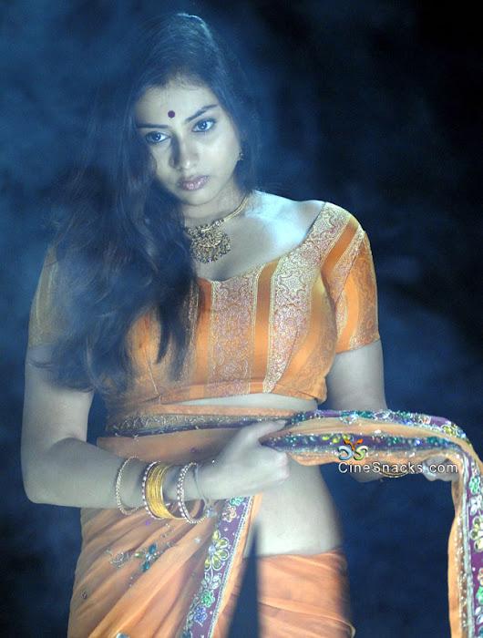 namitha in orange saree hot photoshoot