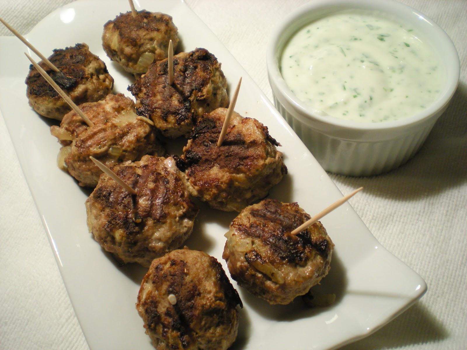 Random Cuisine: Lamb Meatballs with Cilantro Raita