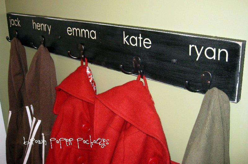 Quick Simple Coat Hooks Simply Kierste Design Co