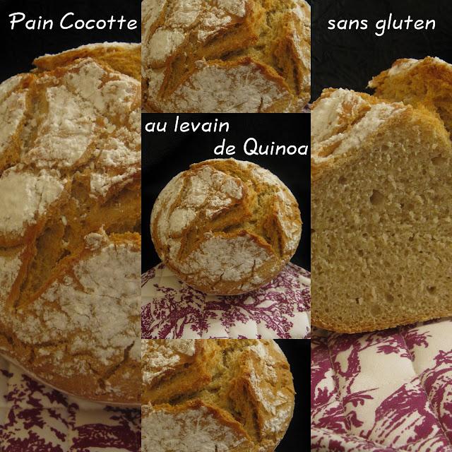 Participation n 4 le pain cocotte sans gluten au levain - Faire du pain sans gluten ...