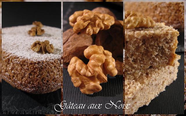 Recette gateau noix sans gluten