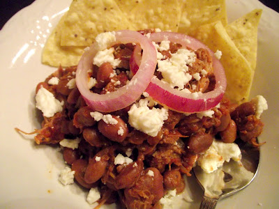 ... Monaco's Moreish Menus and Morsels: Pulled Pork and Pinto Bean Chili
