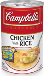 image campbells chicken and rice soup