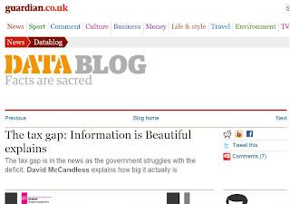 imagem do sítio do jornal guardian
