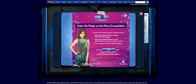 DisneyChannel.com/MagicOnTheMove, Wizards of Waverly Place Magic On The Move Sweepstakes