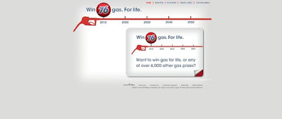 76GasForLife.com, ConocoPhillips's Gas For Life Sweepstakes