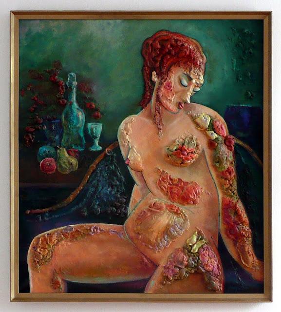 La Donna Fruttata, dipinto plastico, Hrvoje Radovanovic