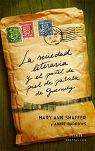 La sociedad literaria y el pastel de piel de patata de Guernsey - Mary Ann Schafer y Annie Barrows. Coberta-2