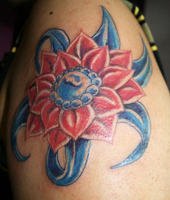 dibujo mariposas tatuajes. Talon's Blog: flor loto tatuaje - dibujo mariposas tatuajes