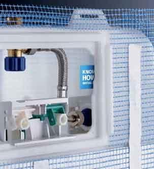 Ecomondo cassetta geberit un rompicapo idraulico - Valvola chiusura acqua bagno ...