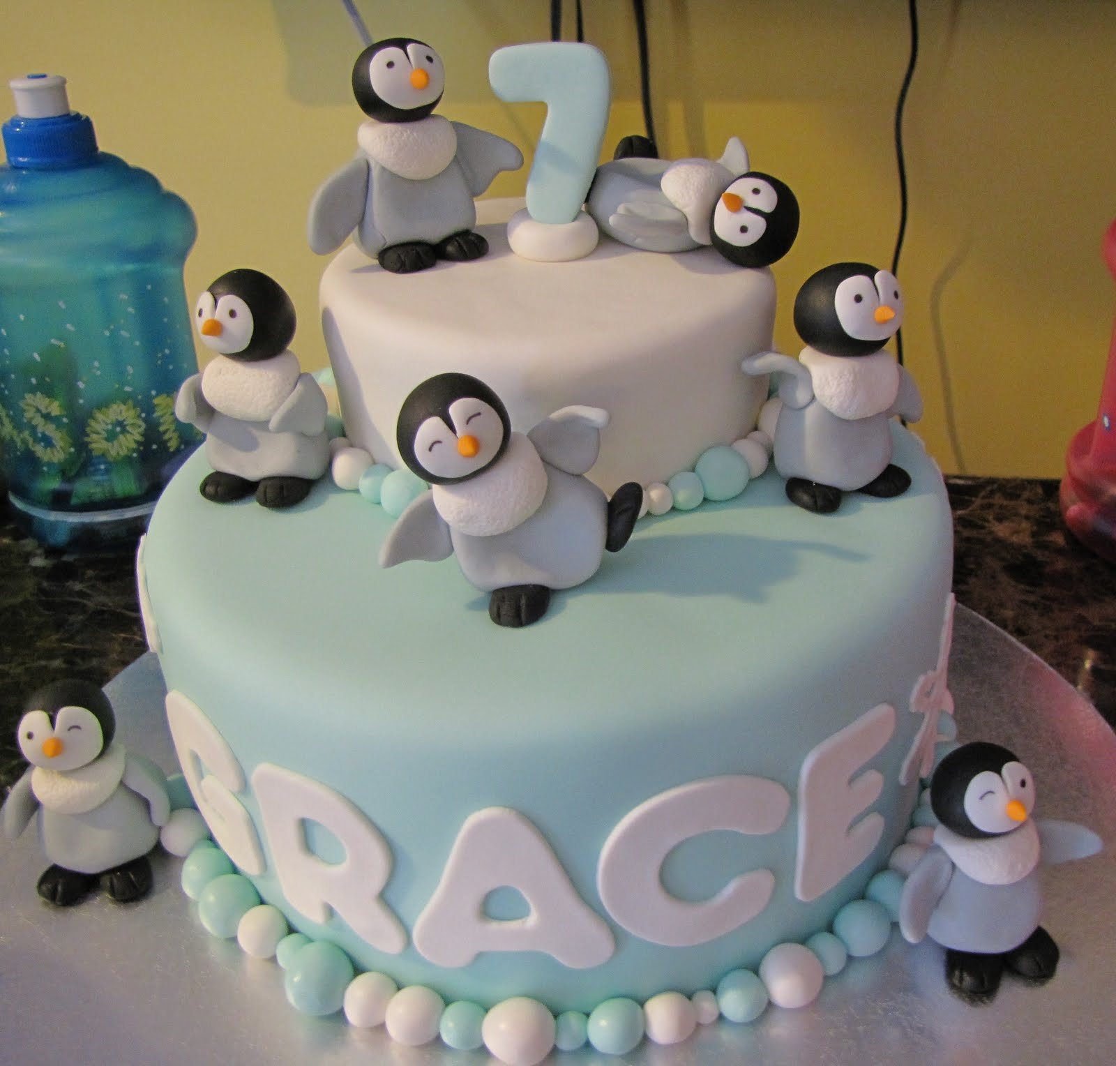 Penguin cake image by melkneec on Photobucket Wedding ...