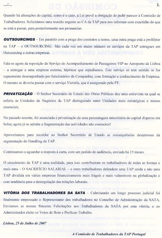 Comunicado 04/2007 (verso)