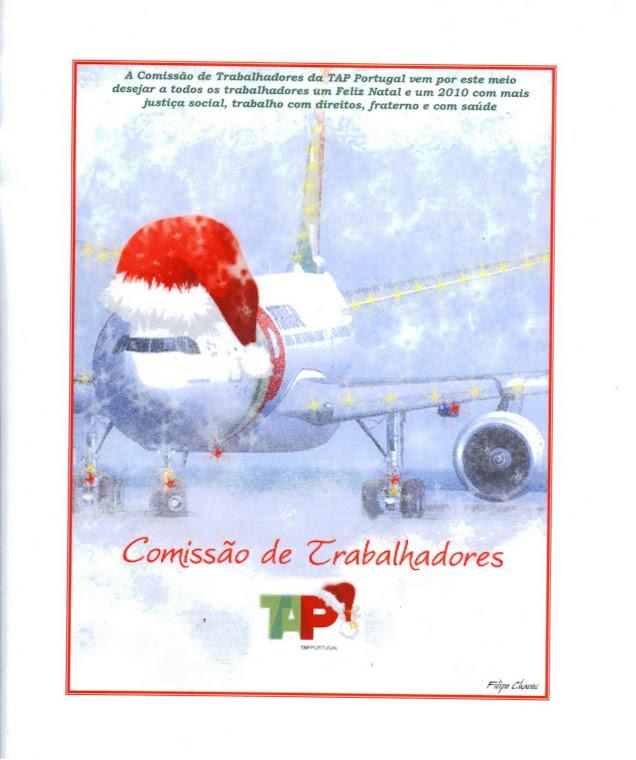 Votos de um Feliz Natal e de um Próspero 2010