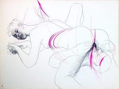 dessin erotique pornographique cunnilingus