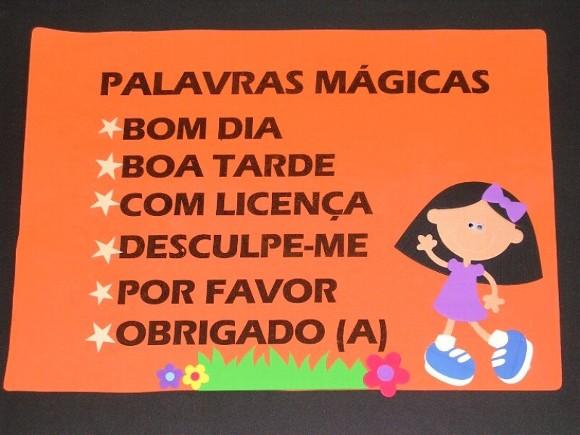 Conhecido Palavrinhas mágicas.. - CANTINHO DO SABER LX32