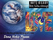 Peace globe Nov.6,2008