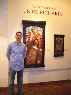 J. Kirk richards ONe Person Show at the Springville Museum of Art