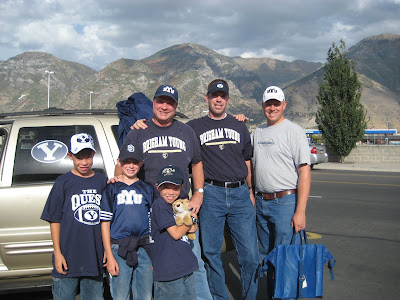 BYU Cougar Football Fans
