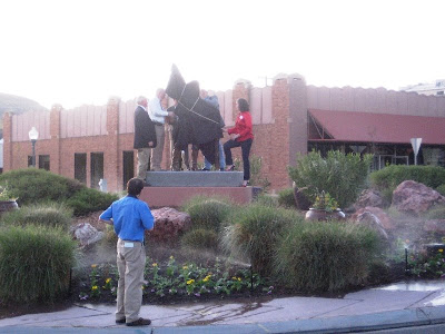 Unveiling of Robert Gardner monument in St. George, Utah.
