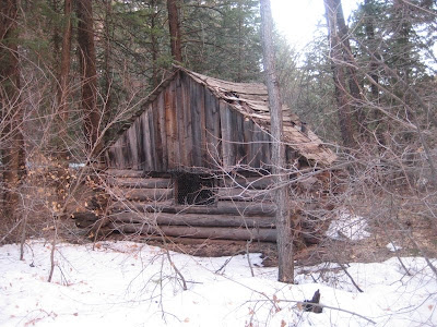 The old Fife Cabin near the north fork of Taylor Creek in Zion National Park's Kolob Fingers section