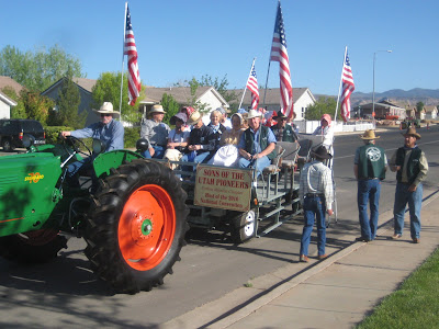 Cotton Mission Chapter Sons of Utah Pioneers entry in Cotton Days Parade 2009