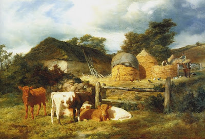 A Highland Croft by Peter Graham, 1873