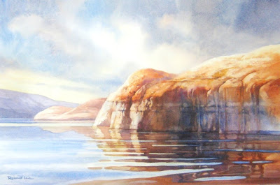 Lake Powell Memories painting by Roland Lee